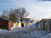 (Снесены) Металлические гаражи на улице Короленко