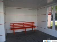 Скамейка на остановке