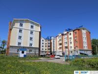 Новые дома на улице 500 летия Чебоксар