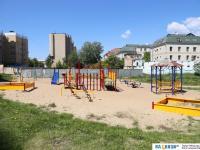 Детская площадка во дворе дома ул. К.Иванова 91