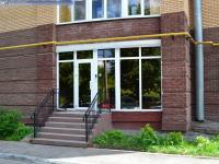 Вход в офисную часть здания