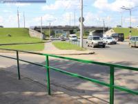 Забор на пути пешеходов