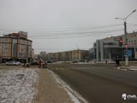 перекресток ул. Хевешской и Эгерского бульвара