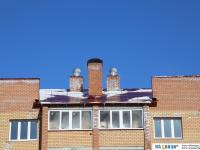 Вид на крышу