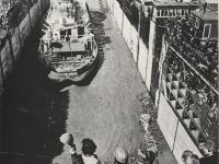 Первые корабли на ГЭС