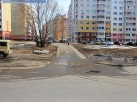Проезд к дому 3-1 на улице Строителей