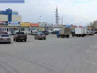Парковка возле автопавильонов