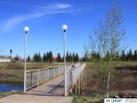 Мост на стадион
