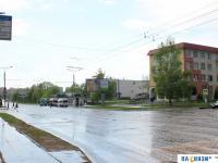 Перекресток улиц Винокурова и Солнечная