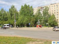 Перекресток Эгерского бульвара и улицы Шумилова