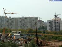 Стройка в районе улиц Гагарина-Ярмарочная