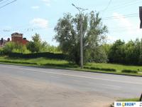 Выезд с Делового проезда на улицу Шевченко
