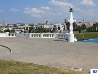 Смотровая площадка возле Театра оперы и балета