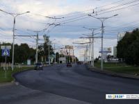 улица 500-летия Чебоксар с новым асфальтом