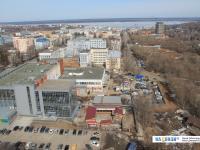 Вид сверху на район Дома торговли