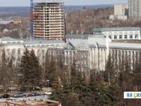 Вид на здания силовиков