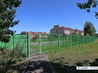 Забор вокруг домов на Агакова