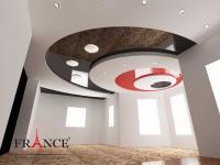 Натяжные потолки «France декор»