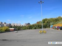 Первая нижняя парковка Каскада