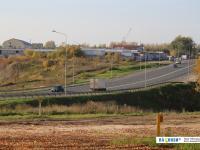 Вид на Канашское шоссе из Альгешево