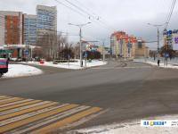 Перекресток проспекта Максима Горького и улицы Соколова