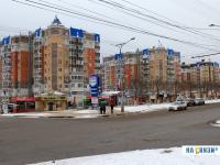 Перекресток проспекта Максима Горького и улицы Кривова