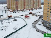 Отгороженная площадка около дома 5 по ул. Лукина