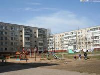 Двор дома 26 по улице Строителей