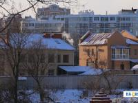 Вид на коттеджи по улице Автономная