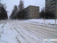 Заснеженная улица Эльгера