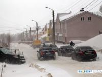 Заснеженная улица Сверчкова