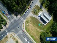 Перекресток Эгерского бульвара и улицы Ленинского Комсомола