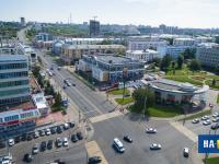 Вид сверху на ул. Композиторов Воробьевых, 2015 год