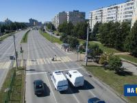 Вид на проспект Тракторостроителей