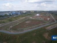 Вид на строительство технопарка