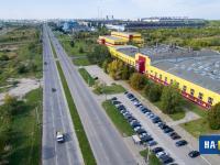 Проспект Тракторостроителей у Завода силовых агрегатов