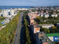 Московский проспект с высоты