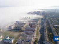 Вид с высоты на проспект Максима Горького