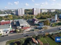 Вид с высоты на Электротехнический завод