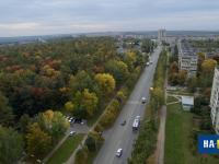 Вид на улицу Мичмана Павлова с высоты