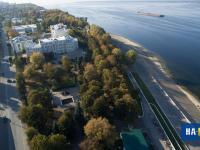 Вид на сквер Константина Иванова с высоты
