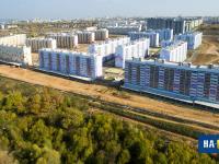 Вид на микрорайон Садовый