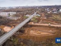 Строительство развязки под Сугутским мостом