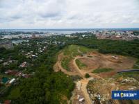 Площадка под строительство в Кнутихинском лесу