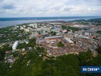 Вид на фабрику Лента