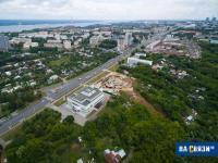 Вид с высоты на улицу Калинина