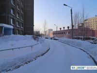 Дорожка вдоль дома