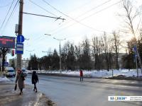 Регулируемый пешеходный переход возле Сквера Чапаева