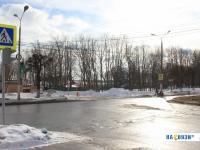 Регулируемый перекресток улиц Николаева и Чапаева