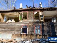 Снос старых домов по улице Фучика